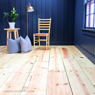 refinishing pine wood floors