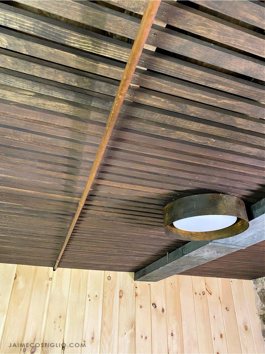 slat style ceiling