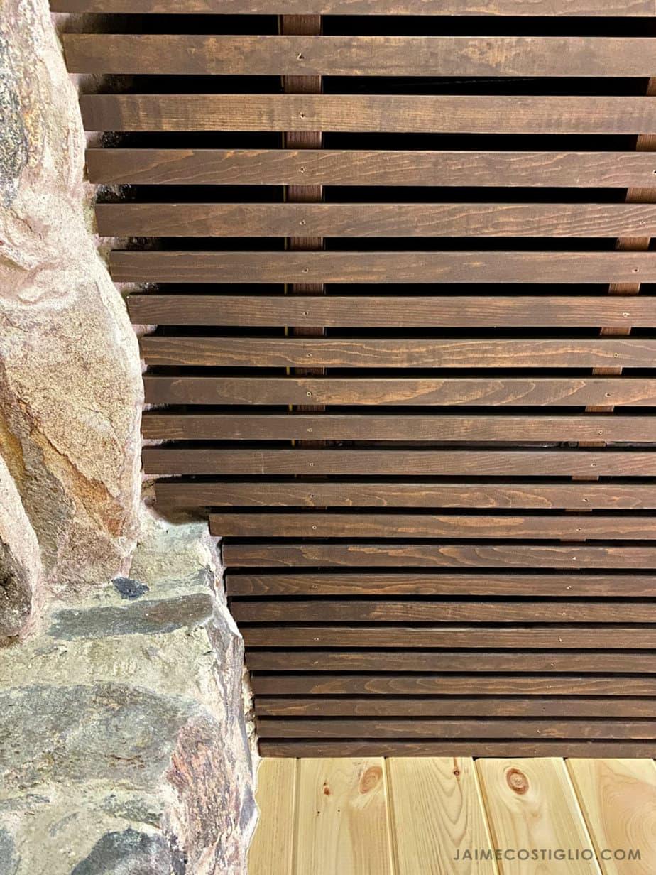 diy wood slats