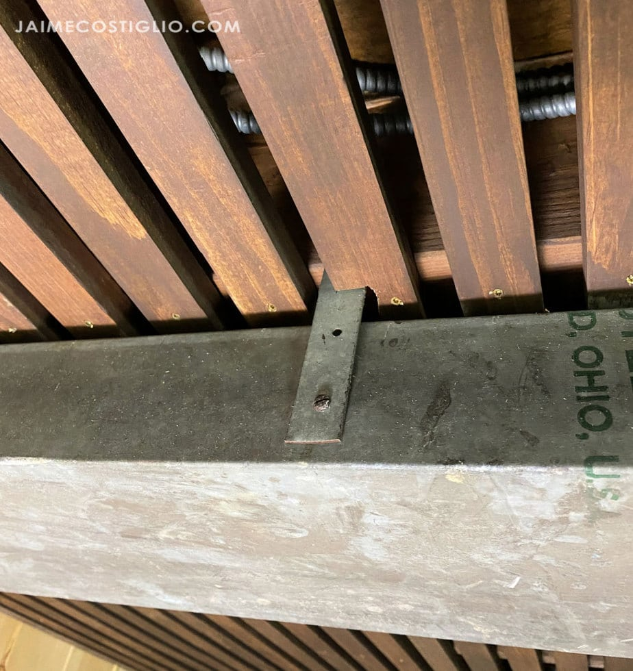 slat ceiling obstacles