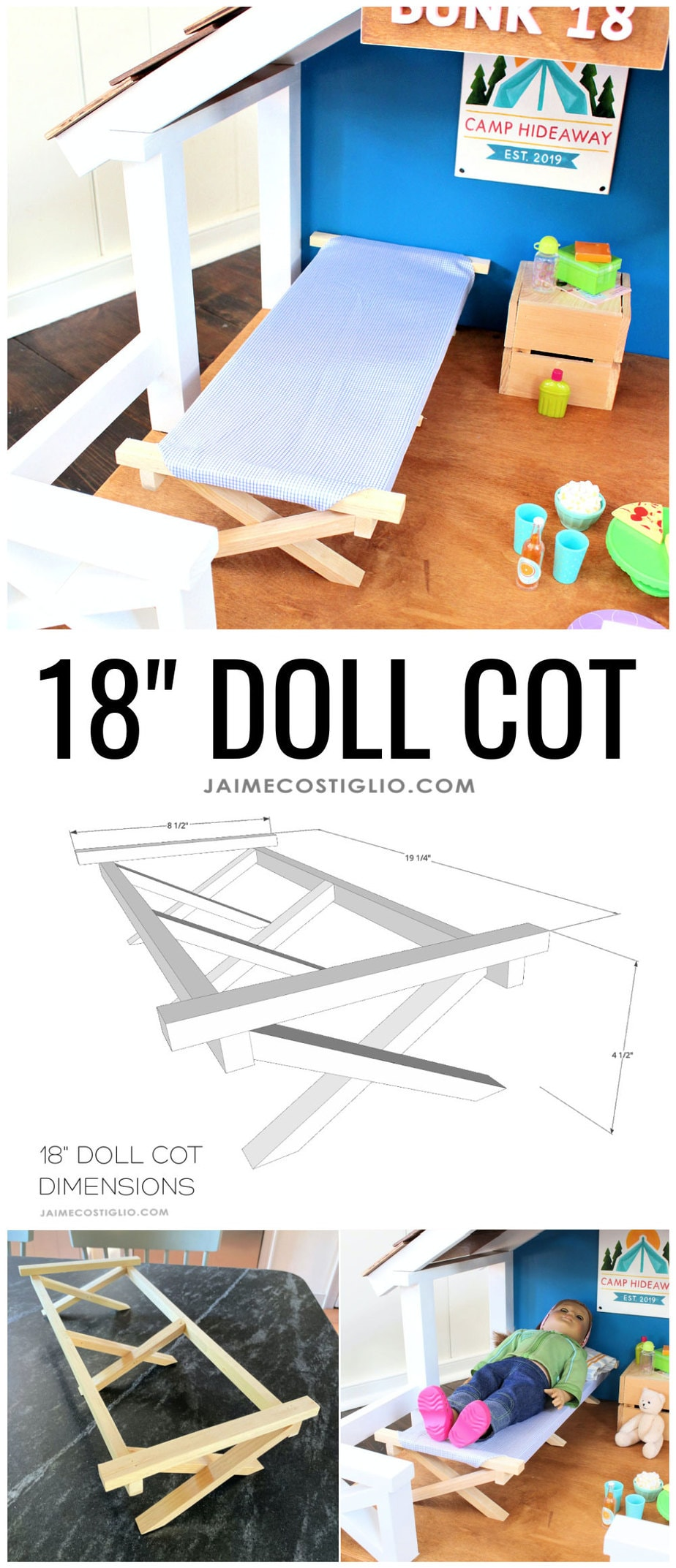 doll cot plans