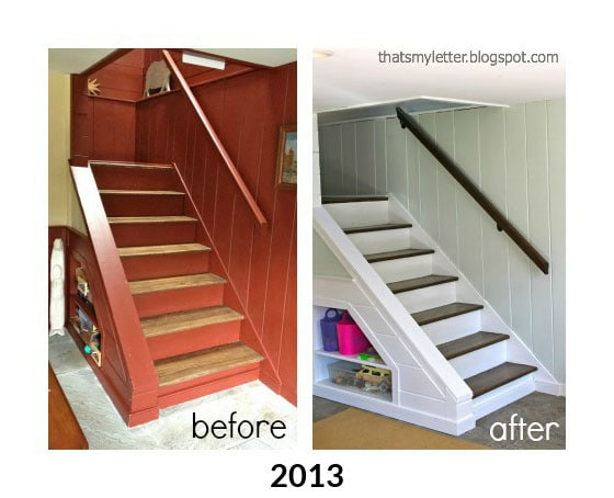 past stair makeovers