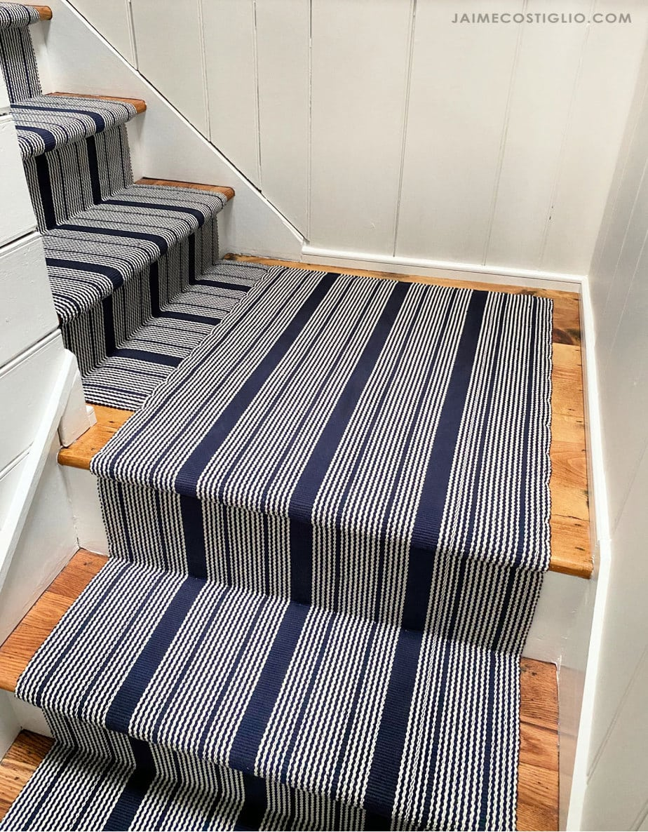 split staircase with landing