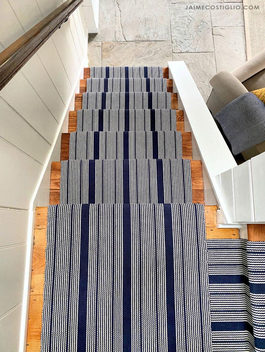 windham pattern stair runner
