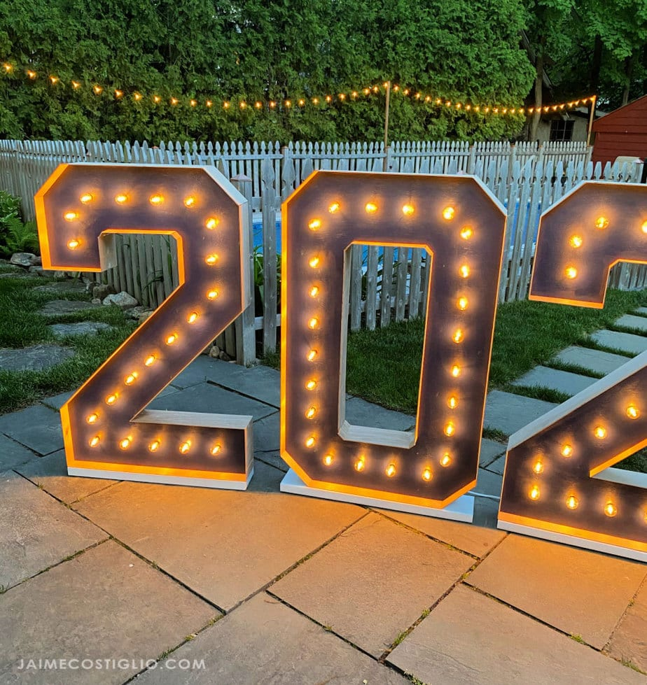 light up marquee