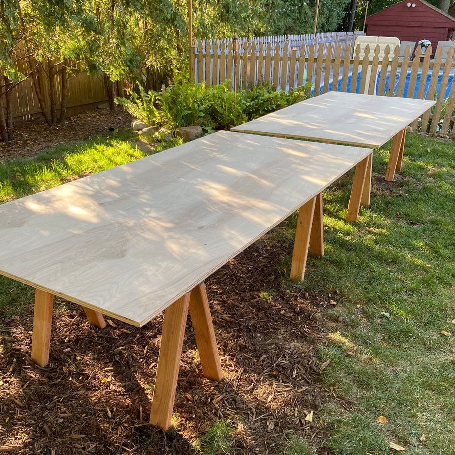 16 foot long dining table